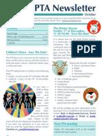 PTA Newsletter October 2012