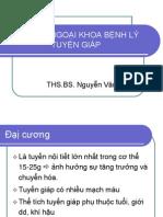 DIEU TRI NGOAI KHOA BENH LY TUYEN GIAP