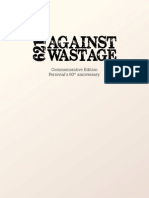 Manual against Wastage