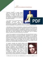Concepto Y Práctica De La Meditación De Rudolf Steiner