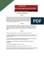 Pravilnik o Standardima Pristupacnosti 2012 Ilustracije