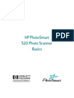 HP Scanner S20 Manual