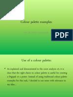 Colour Palette Examples