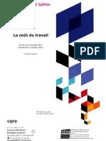 Les Français et le coût du travail
