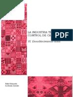 VI. La industria textil y su control de calidad
