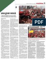 Cierre campaña Chavez