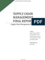 Scm Final Report
