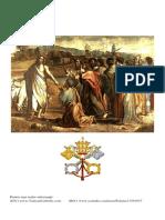 (p. 34-49) Biblia învaţă că Isus l-a făcut pe sf. Petru primul Papă