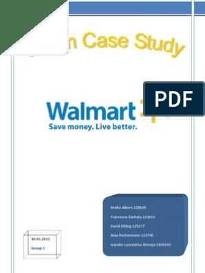 WALMART CASE Group1 Finished-Revised 3 | Walmart | Strategic