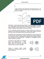 apostila de desenho mecânico - Newton Paiva - 2- projeção ortogonal
