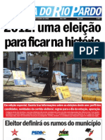 Gazeta Do Rio Pardo Ed. Especial