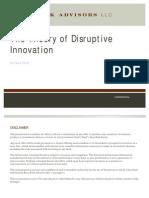 Disruptive Innovation - 2012 06 16