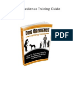Dog Obedience Training Guide