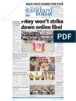 Manila Standard Today - Saturday (October 6, 2012) Issue