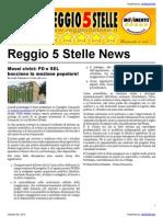 m5s Re News Edizione 05 10 12