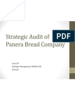 Panera Bread Strategic Audit