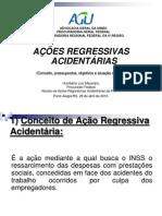 Estgio Atual Das AES REGRESSIVASpor Acidentes Do Trabalho No RS - Humberto