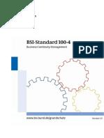 BSI Standard 100-4