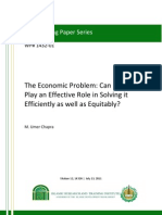 The Economic Problem and Role of Islam