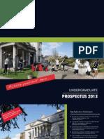 Undergraduate Guide 2013-14