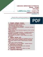 LAMPEA-Doc 2012 - numéro 35 / vendredi 5 octobre 2012