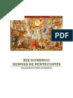 XIX domingopostpentecostes-homilía