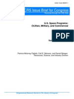 U.S. Space Programs- Civilian, Military, And Commercial
