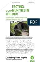 Protecting Communities in the DRC: Understanding gender dynamics and empowering women and men