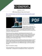 Fast Company, September 14, 2012, TrackVia
