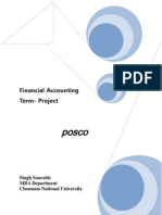 Term Project Posco