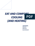 EAT and Comfort Cooling(Heating)