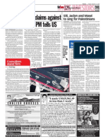 TheSun 2009-01-16 Page06 Provide Info on Claims Against Msian Officials PM Tells US
