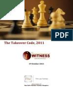 Pxv i Witness Takeover Code 2011 19 October 2011