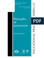 Principles of Instruction Rosenshine