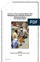 Effectiveness Review: Community-based Disaster Risk Management and Livelihoods Programme, Pakistan