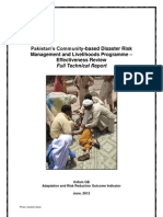 Pakistan's Community-based Disaster Risk Management and Livelihoods Programme – Effectiveness Review