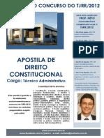 Apostila de Direito Constitucional (Cargo de Tecnico Jud)
