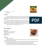 Tarte de Atum e Bolo Chocolate