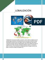 GLOBALIZACIÓN - TRABAJO GRUPAL