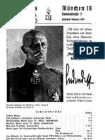 Verlagsverzeichnis, Buchkatalog Ludendorffs Volkswarte, Ludendorffs Verlag,1937,