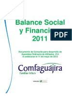 Balance Social Financiero2011
