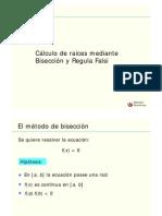 06upc07_Metodos de Biseccion y Regula Falsi