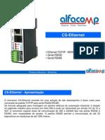 Curso para utilização do conversor Ethernet CS-ETHERNET