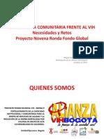 La Respuesta Comunitaria Frente Al Vih en Bogotá