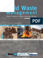 Final Solid Waste Management Study Report and Opperational p
