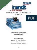 Manual de Mantenimiento de Equipos (Brandt).