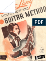 Eddie Lang - Modern Advanced Guitar Method