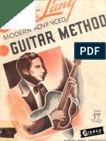 Eddie Lang - Modern Advanced Guitar Method