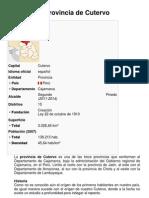 Provincia de Cutervo