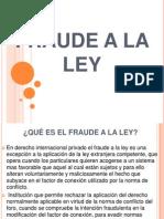 Fraude a La Ley